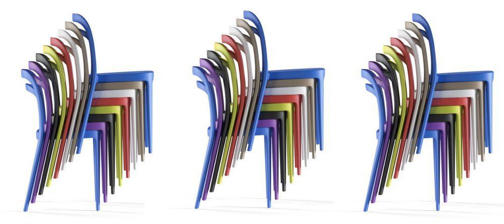 Les chaises néo-rétro: chics, design et élégantes