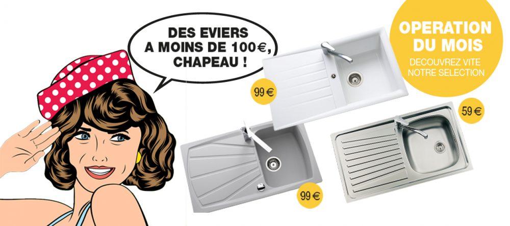Un évier à moins de 100 euros !