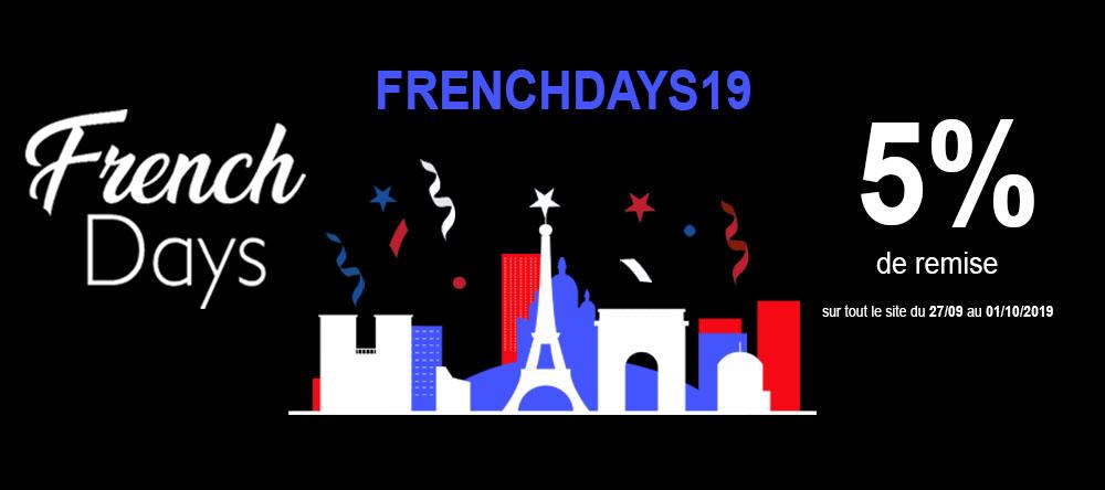 Les French Days débarquent sur Cuisissimo !