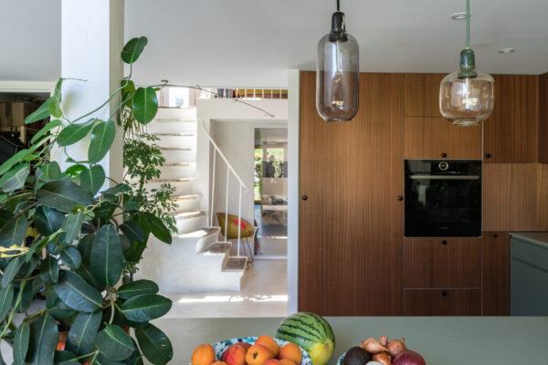 Cuisine d'archi #03 : Ode aux couleurs et matières naturelles dans la cuisine de BAL