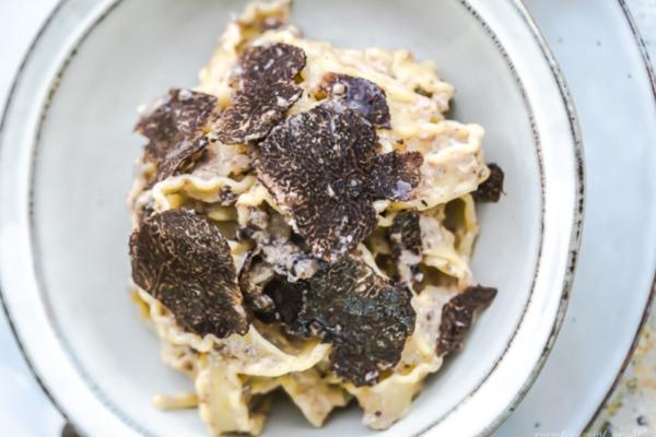 Les fameuses pâtes aux truffes Big Mamma